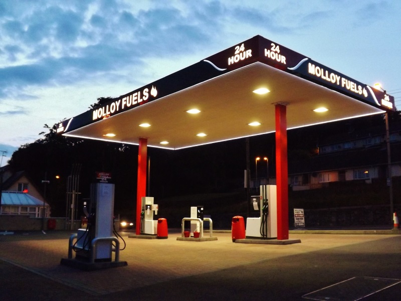 Molloy Fuels filling station